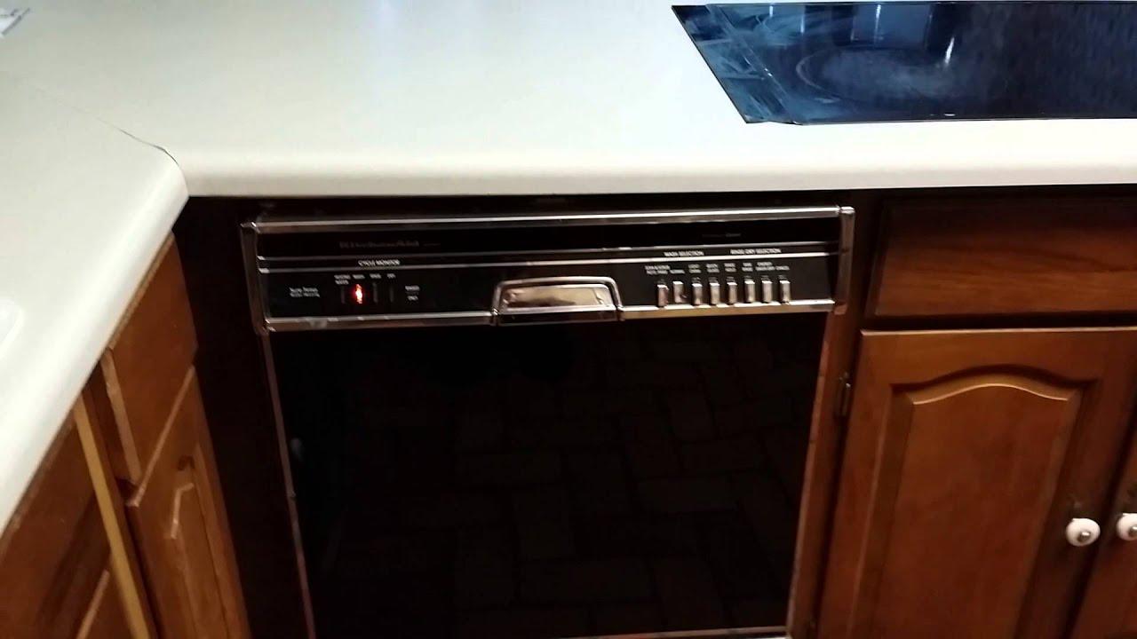 Kitchen Aid Washer Oak Table And Chairs Kitchenaid Kuds22 Dishwasher Youtube