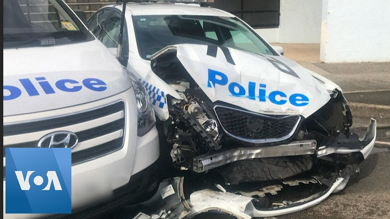 Police Car Website >> Van With 140 Million Of Meth Smashes Into Police Car