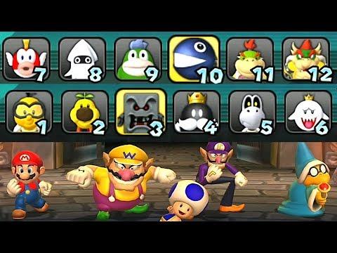 Mario Party 9 Boss Rush All Bosses #10