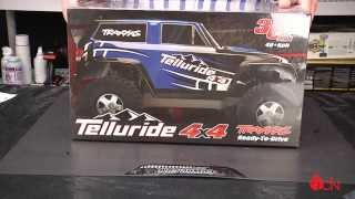 Traxxas Telluride 4x4 RTR Unboxing & First Look