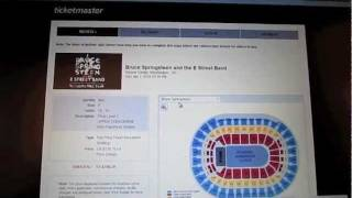 Ticketmaster Bruce Springsteen Ticket Ordering Experience: The Daily Greg Reports (1/28/12)