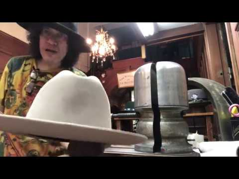How To Clean A Silver Belly Western Hat..