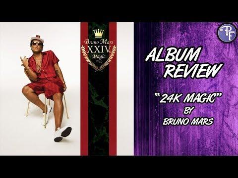 Bruno Mars: 24k Magic - Album Review (2016)