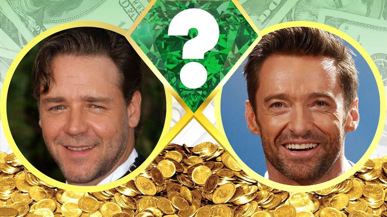 WHO'S RICHER? - Russell Crowe or Hugh Jackman? - Net Worth ...