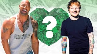 "WHO'S RICHER? - Dwayne ""The Rock"" Johnson or Ed Sheeran? - Net Worth Revealed!"