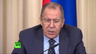 Пресс конференция глав МИД России и Республики Эль Сальвадор