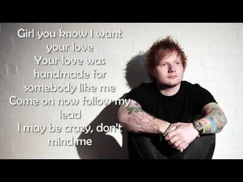 Ed Sheeran - Shape of you (Lyrics video)