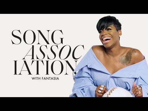 Fantasia Sings Aerosmith, Aretha Franklin and Mary J. Blige in a Game of Song Association | ELLE