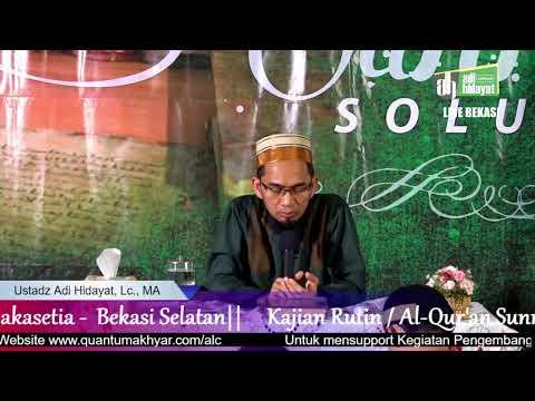 Live Streaming | Ustadz Adi hidayat Official