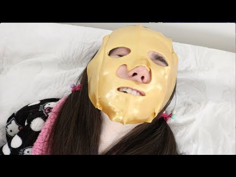 TRYING DIFFERENT FACE MASKS!