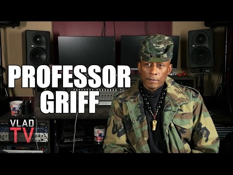 Professor Griff On Getting Kicked Out Of Public Enemy For Anti-Jewish Comments