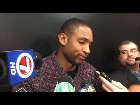 Al Horford, Boston Celtics star, thinks Terry Rozier