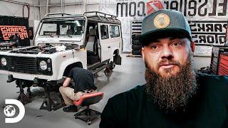Estética de safari para una Land Rover Defender | Diesel Dave | Discovery Latinoamérica