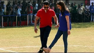 Ready, Steady, Goal: Kick It like Salman!
