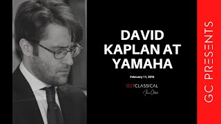 GC Presents: David Kaplan at Yamaha Artist Services February 11, 2016