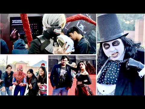 Comic Con Delhi 2017, Full Tour, Action, Drama, Games, Comedy A day with Superheroes