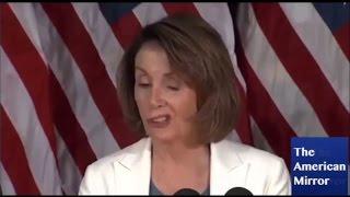 Nancy Pelosi utters gibberish, slurs statements, repeats words thumbnail