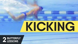 FAST AND EASY BUTTERFLY. HOW TO SWIM IT? BUTTERFLY KICKS. BUTTERFLY LESSON 2 @ Swimmate