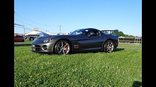 2010 Dodge Viper SRT 10 Final Edition # 2 in Gray & 8.4 L V10 Engine My Car Story with Lou Costabile