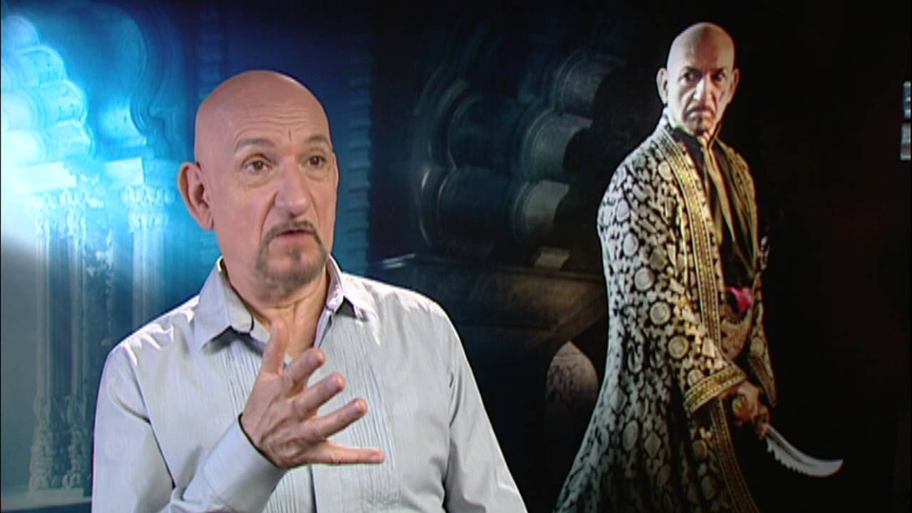 Prince Of Persia Ben Kingsley Nizam Exclusive Interview Youtube