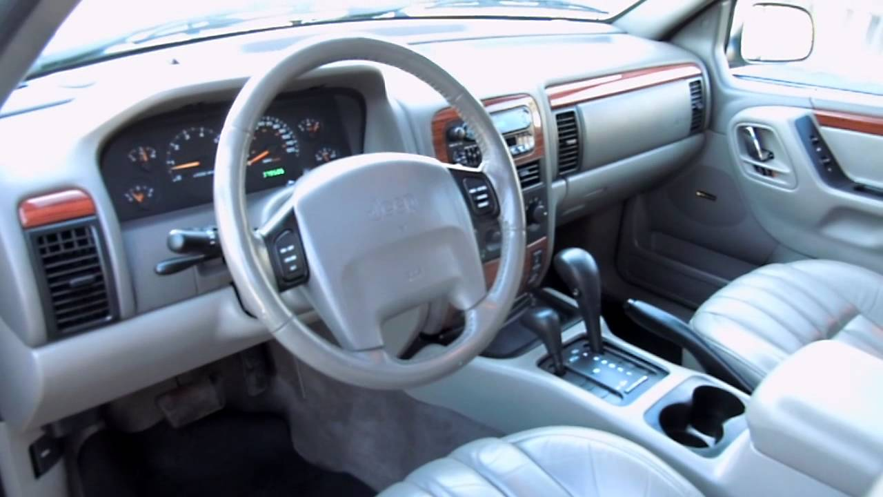 1999 jeep grand cherokee limited 4wd dscn0448 - youtube