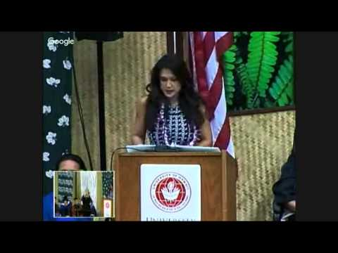 University of Hawaii at Hilo Commencement Fall 2015