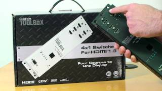 Gefen ToolBox  4x1 Switcher Install Video