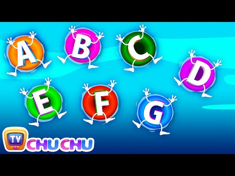 Thumbnail: ABC Songs for Children - ABCD Song in Alphabet Water Park - Phonics Songs & Nursery Rhymes