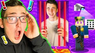 SAVING MY BEST FRIEND FROM PURPLE MINECRAFT PRISON!