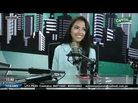 LITA PEZO en entrevista en Radio TV Capital con Yvonne García y Kike Montenegro 17 de enero del 2017