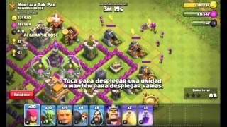 Mi Primer Ataque Con El Rey Bárbaro :D | Clash Of Clans |