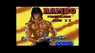 Commodore 64 Longplay - Rambo: First Blood Part II