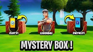 NIE OTWÓRZ ZŁEGO MYSTERY BOX W FORTNITE SEZON 1 !! PREZENT !!