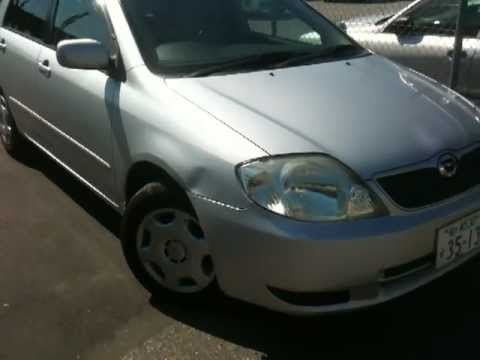 2002 Toyota Runx - good value family car for Tokyo Japan for sale