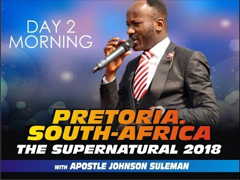 The Supernatural, Pretoria, South Africa - Day 2 morning
