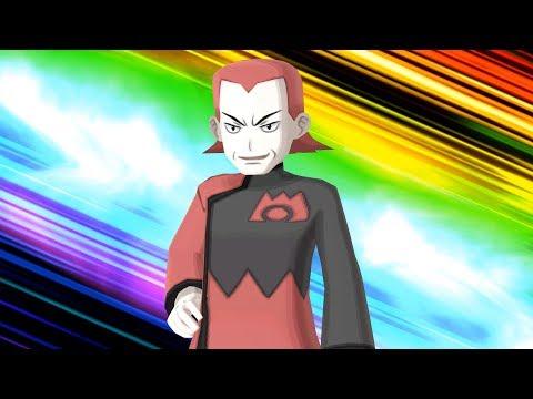 Pokemon Ultra Moon: Team Magma Leader Maxie Boss Fight (4K)