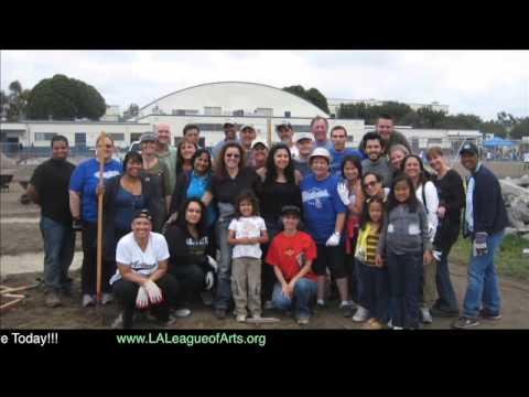 LA League of Arts School Garden Projects