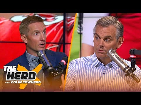 Joel Klatt reveals his NFL Mock Draft, talks Cardinals-Rosen broken trust & defends Baker | THE HERD