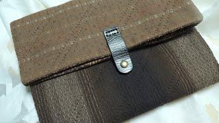 Clutch bag, 클러치백 만들기, How to m…
