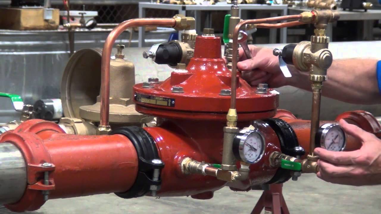 Zurn Wilkins Automatic Control Valves ZW209 - How to Commission