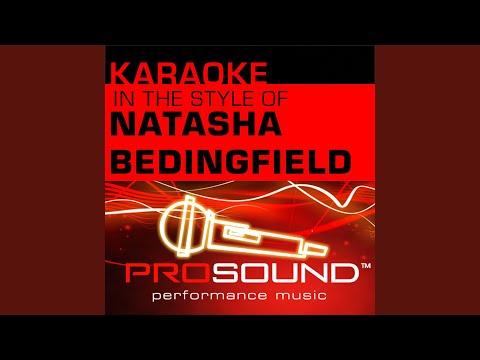Unwritten (Karaoke Instrumental Track) (In The Style Of Natashe Bedingfield)