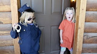 COPS AND ROBBERS IN A CABIN!