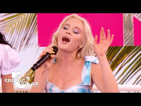 Zara Larsson Performs 'Never Forget You', 'Ruin My Life' & More (Live Performance) | #MTVSpringBreak