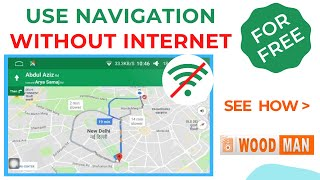 How to Use Navigation Offline Without Internet in Your Car or Android Car Stereo for Free? screenshot 3