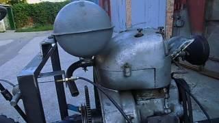Как сделать самодельный трактор. ПЛАВНЫЙ ручной газ.
