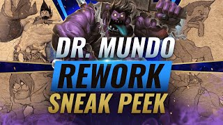 NEW Dr. Mundo REWORK Early Sneak Peek (VGU) - League of Legends