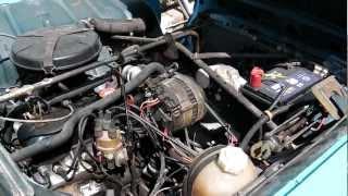 """Moteur Renault 4 TL tourne """"rond"""""""