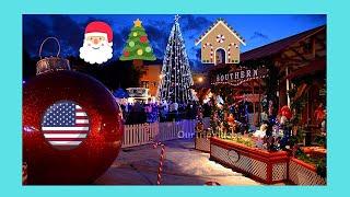 SAN JOSE: The beautiful Christmas Village 🎅 in California (…