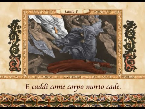 La Divina Commedia in VERSI - Inferno, canto V (5)