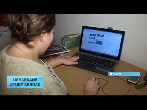 Ukrainians Studying Abroad: Ukrainian students choose Poland's universities in record numbers